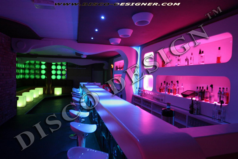 Nightclub design disco design lounge design for Decoration boite de nuit